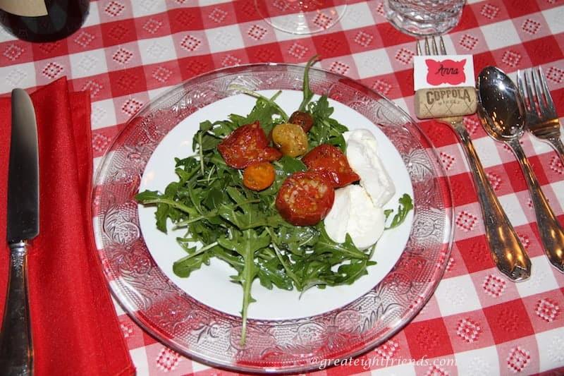 Roasted-Tomato-Arugula-Salad
