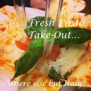 Dal Moro Pasta Take-Out!