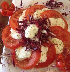Tomato Salad CinqueTerre, Vernazza Marked