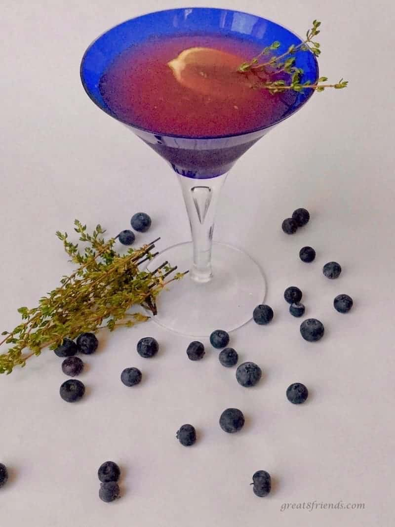 It's thyme for a martini! I love citrus so anything shaken up with lemonade, herbs, and vodka, and I am sold! Try this sophisticated and delicious martini.