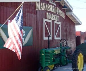 Eat Your Vegetables Manassero Farms Front Sign