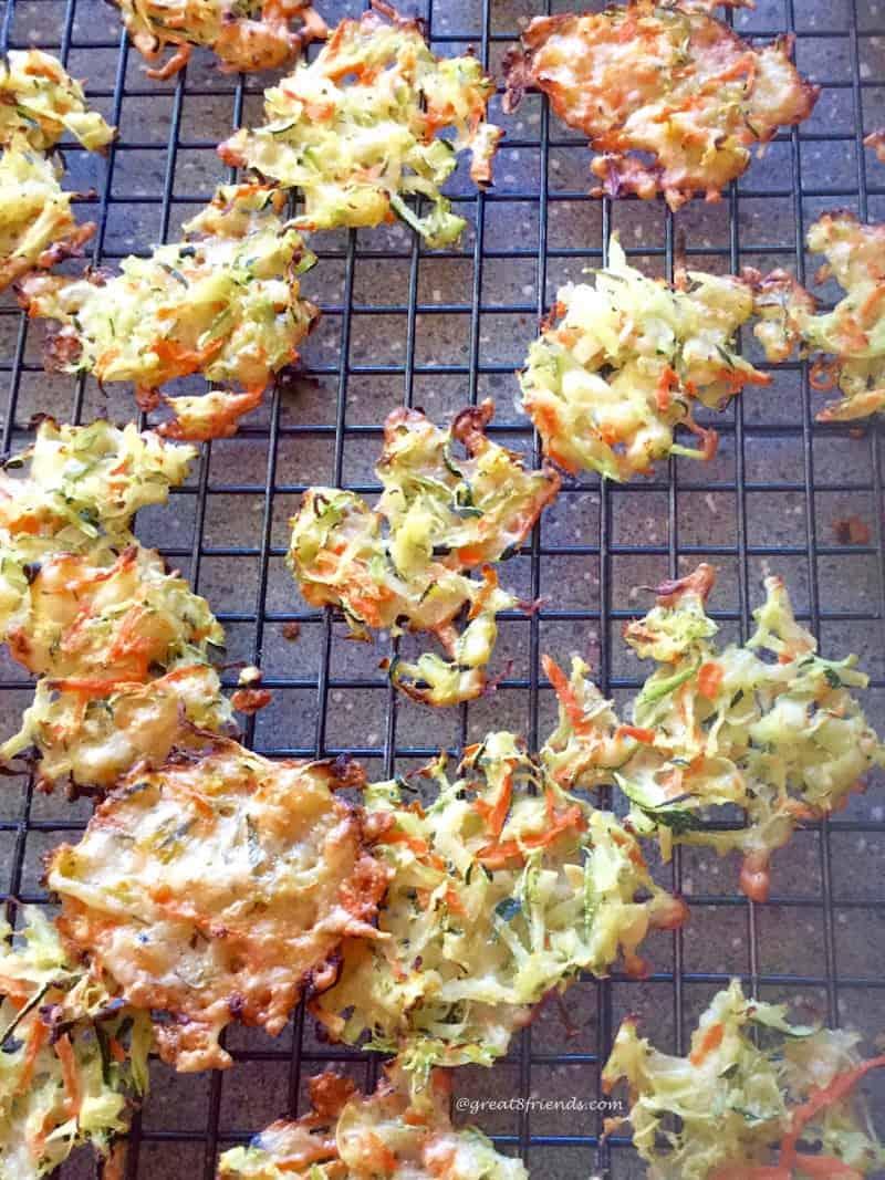 Parmesan Zucchini Crisps