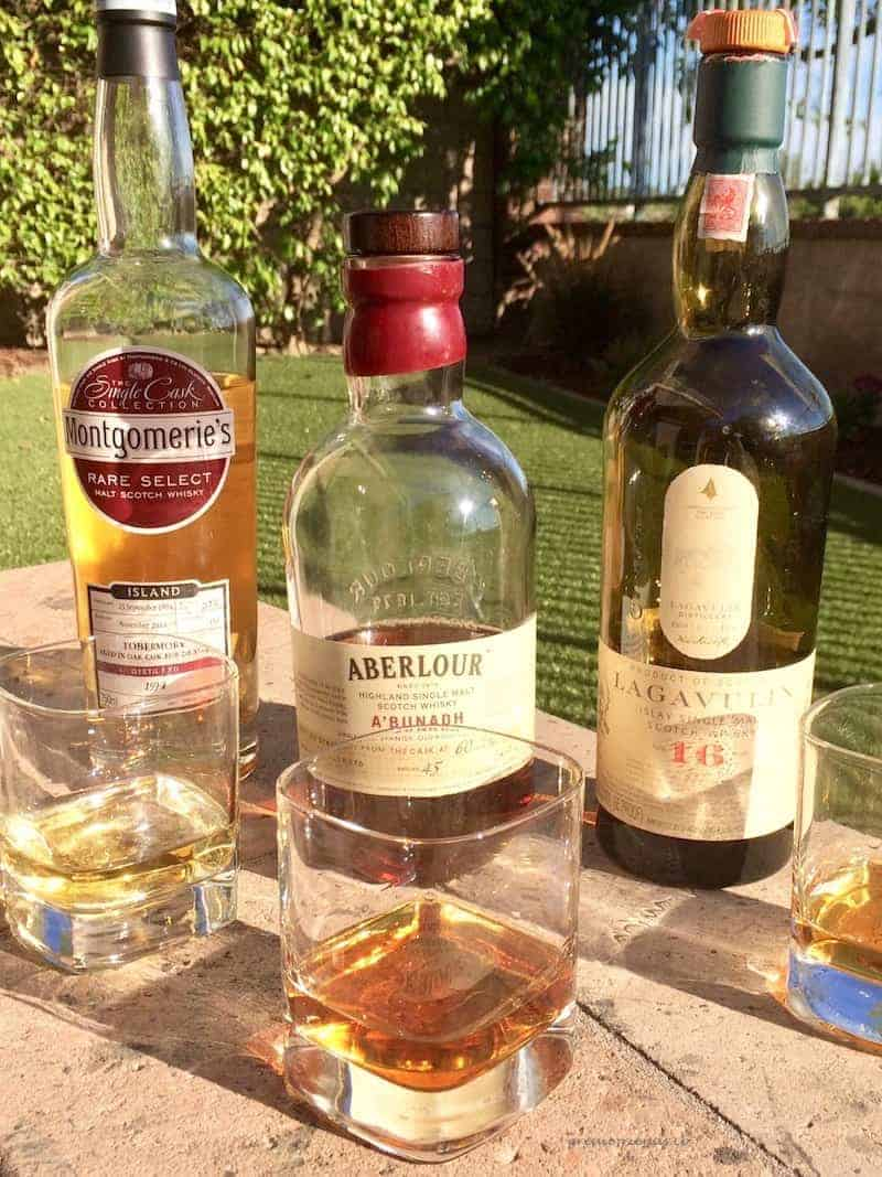 In honor of National Scotch Whiskey Day we decided to taste test three Single Malt Scotch Whiskeys from three different regions of Scotland.
