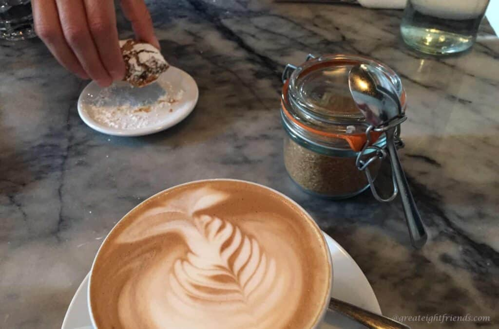 The-Fat-Hen-latte-cookie