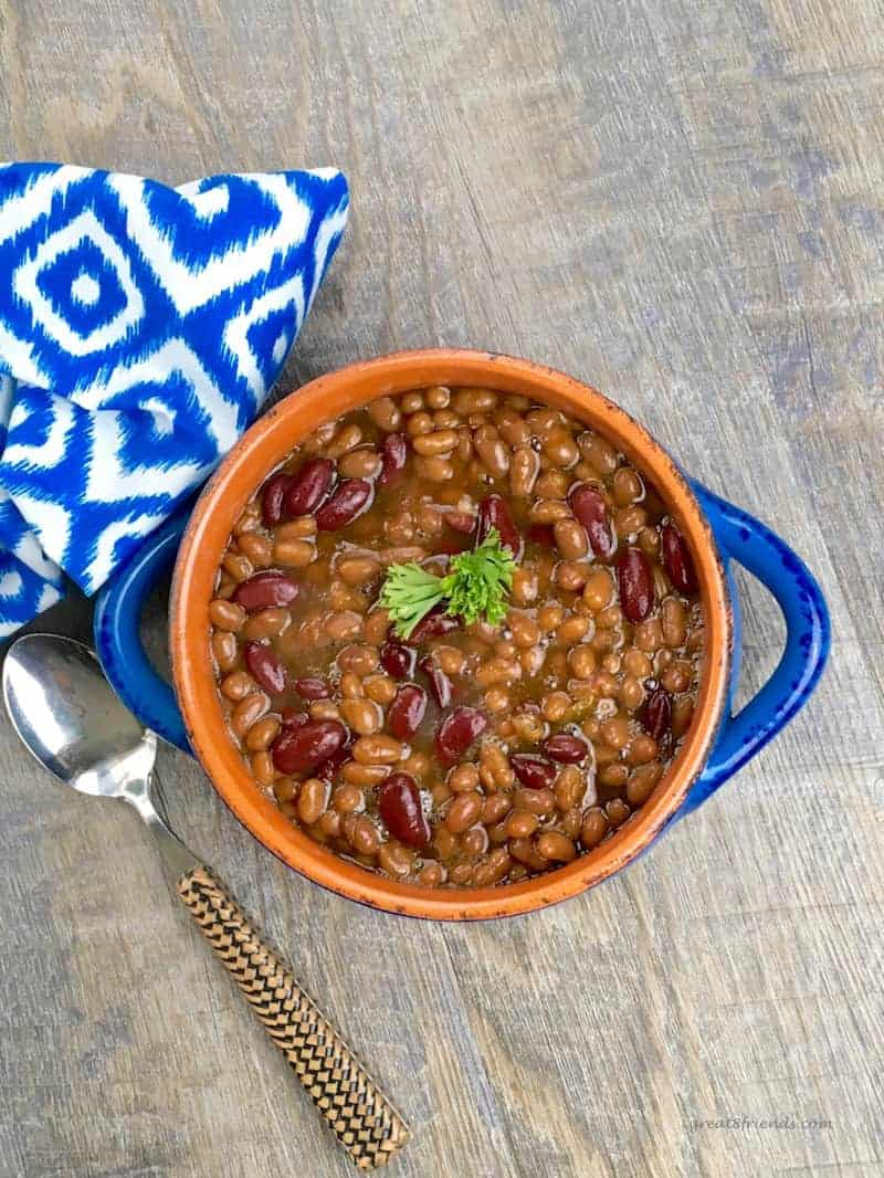 These delicious Texas Slow Cooker BBQ Baked Beans require little effort and yield lots of flavor. Make them and take them or just make them and eat them!