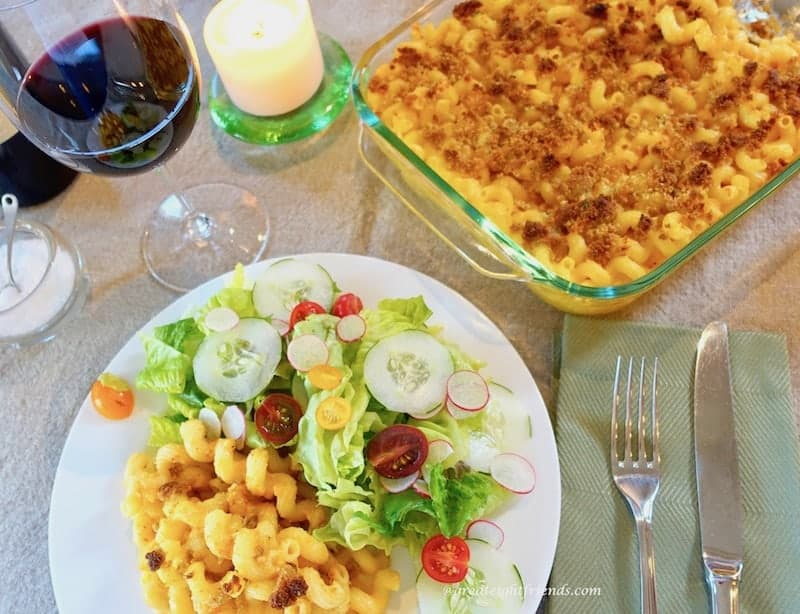 My grandmother's Sunday Suppers are legendary in our family. And whenever there is a special occasion, this Macaroni and Cheese is requested. The Best!