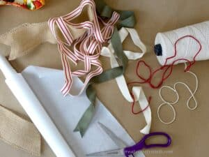 Hostess Gift Wrapping