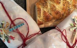 Hostess Gift Challah Bread-Wrap