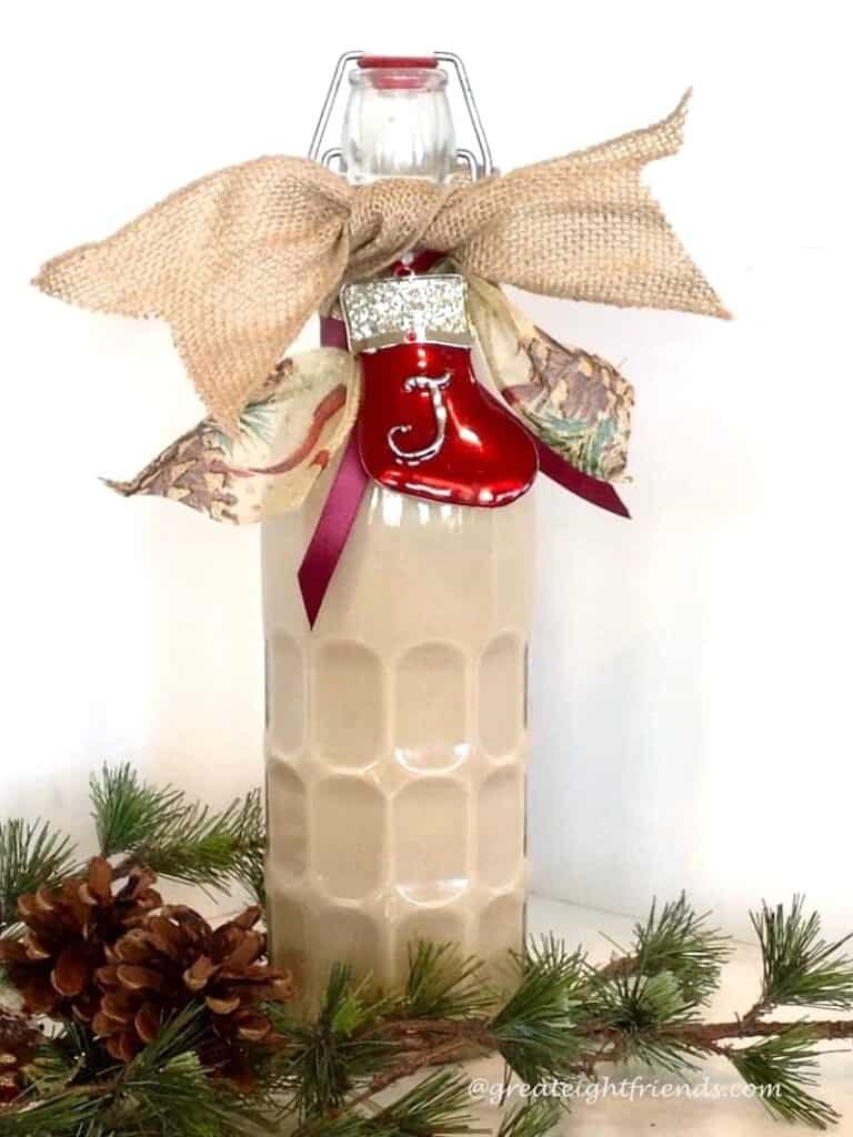 Home-made Irish Cream, no cooking required! This is delicious to serve to your holiday guests. It also makes a Gr8 gift. Just put it in a pretty bottle!