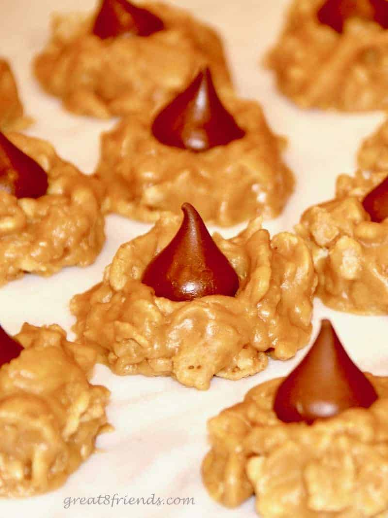 Peanut Butter Kiss cookies, Number One of our 10 best holiday cookie recipes!