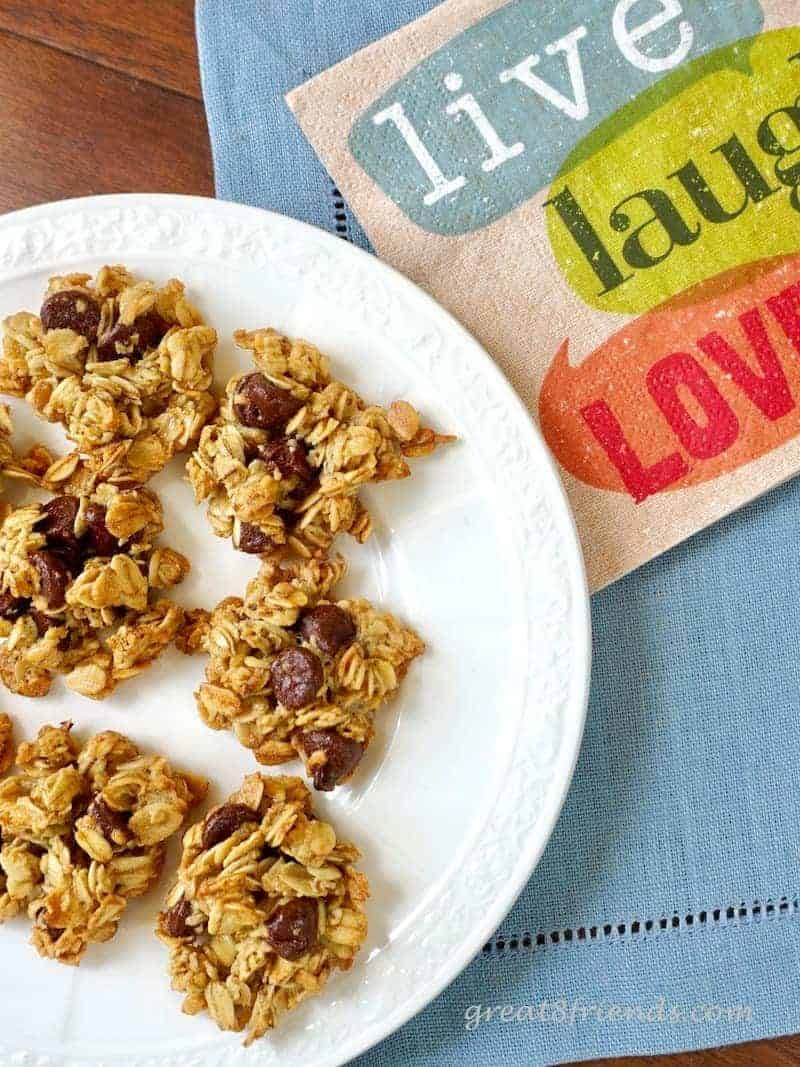 Healthy Delicious Oatmeal Cookies