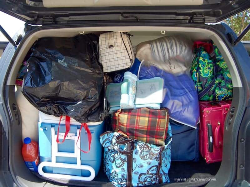 Scrapbooking Packed Car