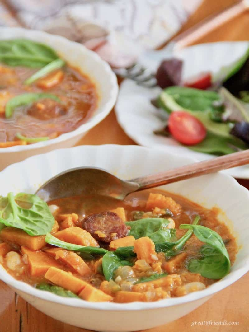 Spicy Sweet Potato Soup.