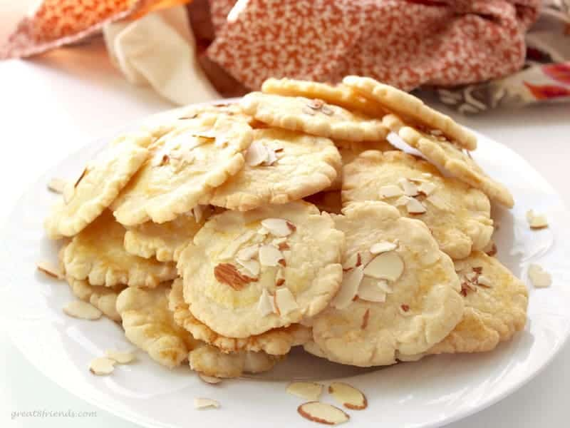 This version of a easy to make and delicious Chinese almond cookie is very similar to a shortbread cookie and perfect for any occasion!