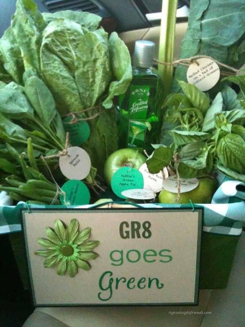 Gr8 goes Green invitation