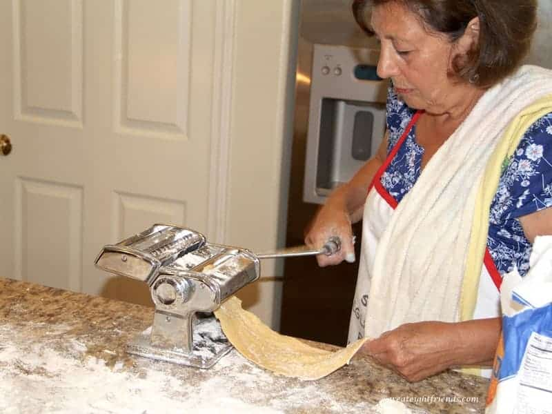 There is truly nothing like homemade pasta. And it's fairly easy! Sure, it takes some time. But this is a fun family activity. Try it!
