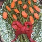 Asparagus Carrot bouquet