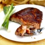 Glazed Salmon Fork