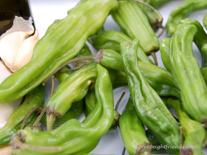 This recipe for Shishito Peppers is easy and a crowd pleaser. You can sauté these quickly and serve your family or guests a delicious and healthy snack!