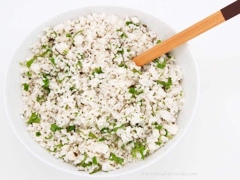 Coconut Lime Cilantro Rice 3A