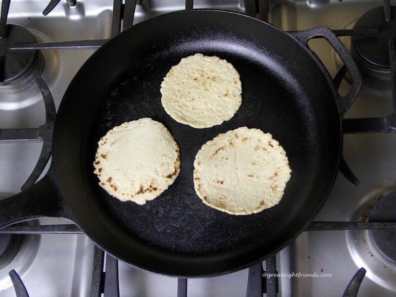 Tortillas-skillet