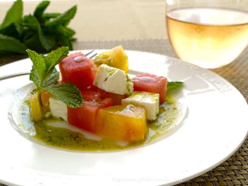 Watermelon Tomato Feta 1
