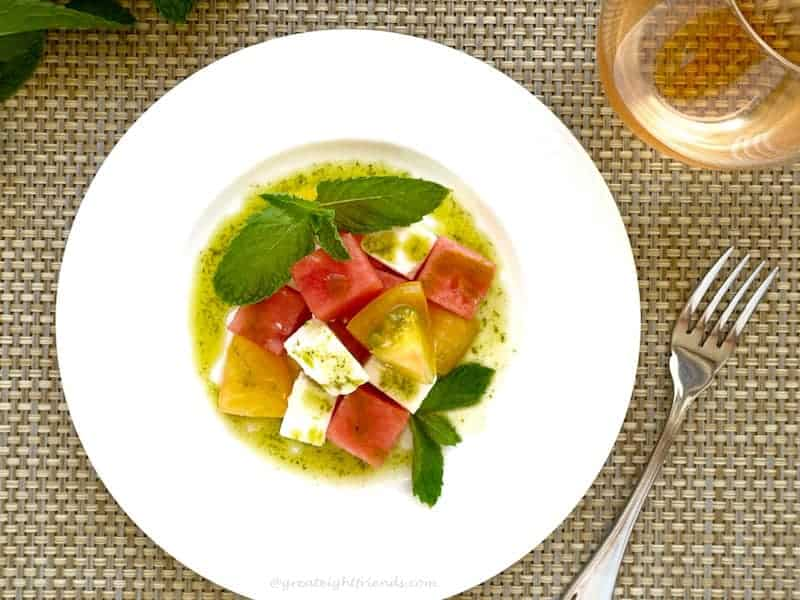 Watermelon Tomato Feta 4