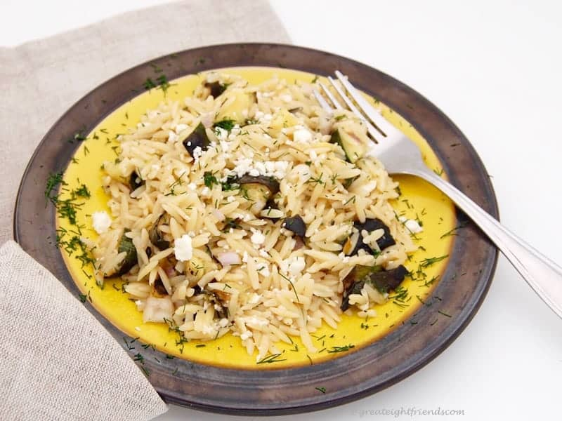 Zucchini with Orzo 1