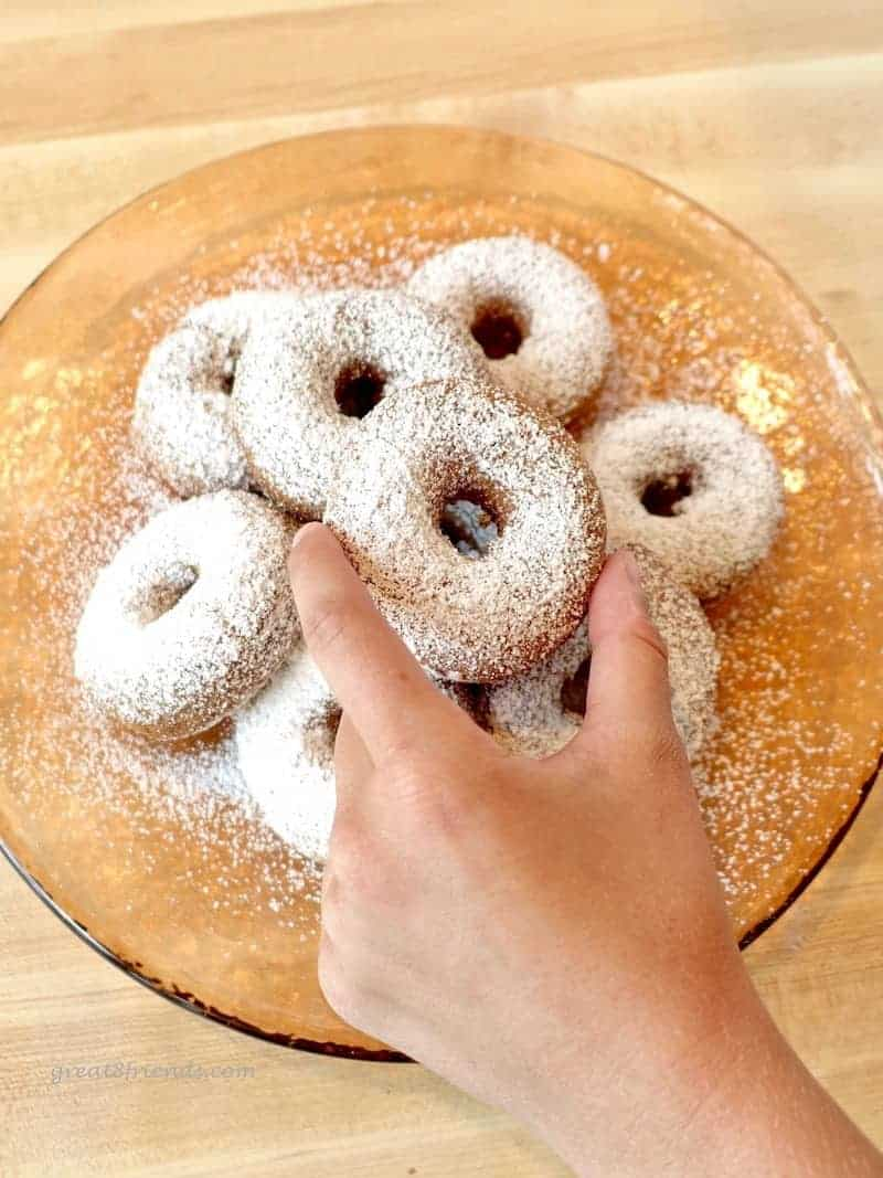 Divine Doughnuts...Delicious, Delectable, and as a bonus, Gluten Free too! Try this recipe, these will become your favorite cake donuts!