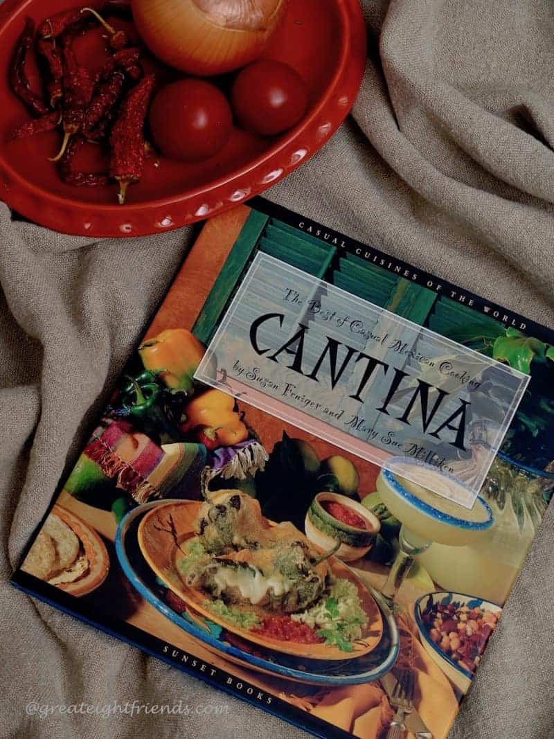 The cookbook called Cantina.