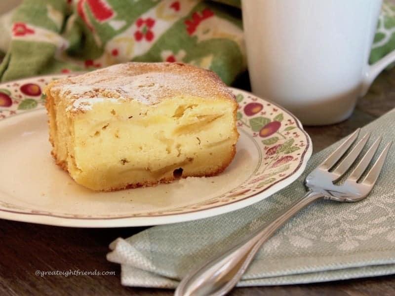 Lithuanian Apple Cake.