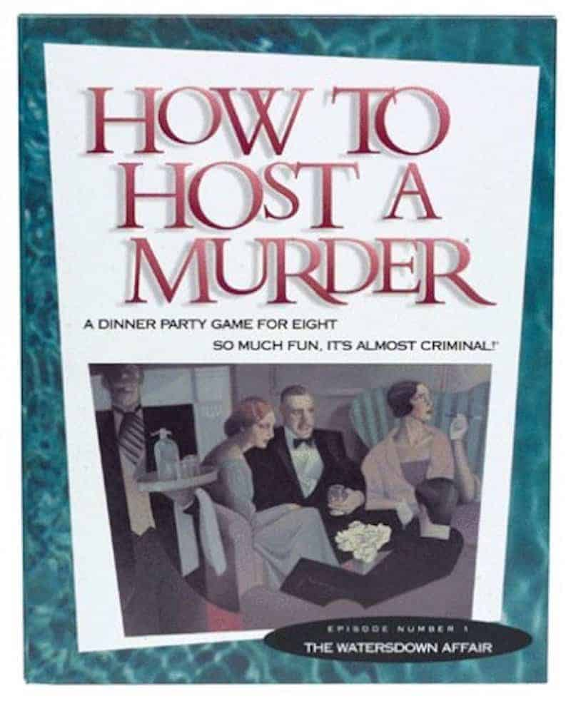 Olde English Christmas Dinner How to Host a Murder