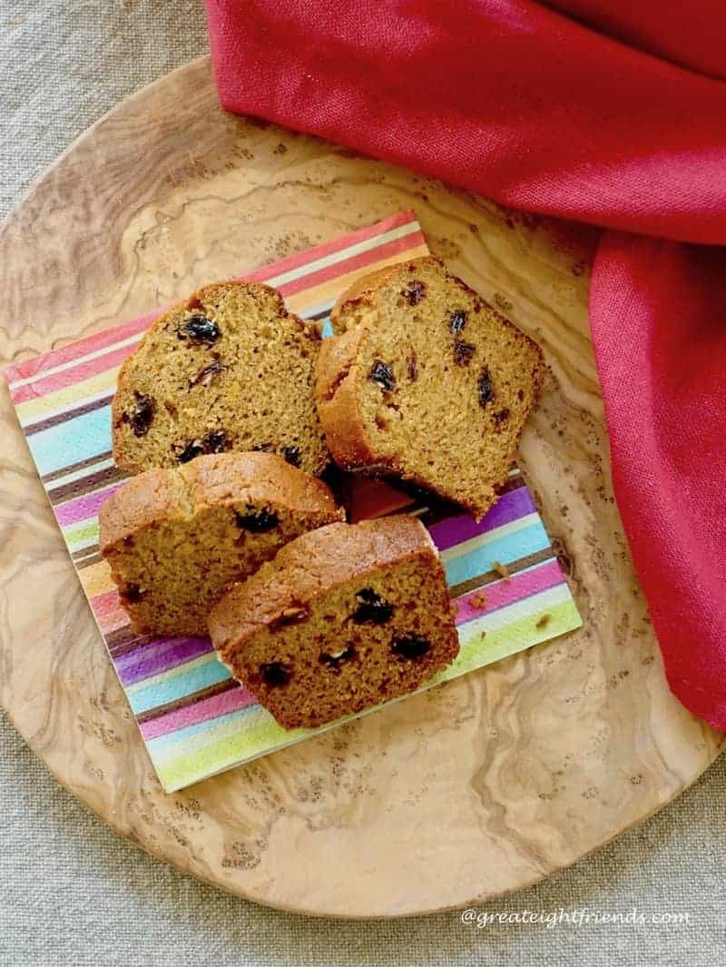 Roasted Pumpkin Olive Oil Quick Bread