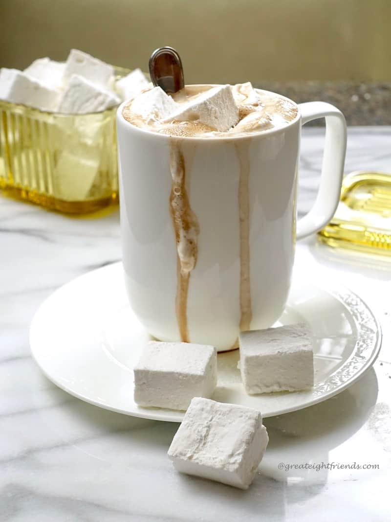 You too can make these gluten-free Yummy Homemade Marshmallows and surprise your family and friends with this easy recipe for a favorite treat!