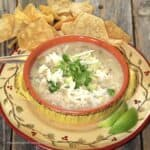 White Cheddar Chicken Chili