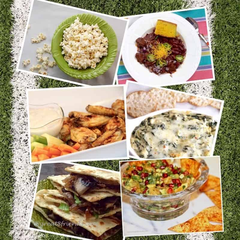 Super Food Day Collage
