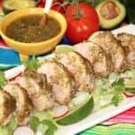 Adobo Marinated Pork Tenderloin