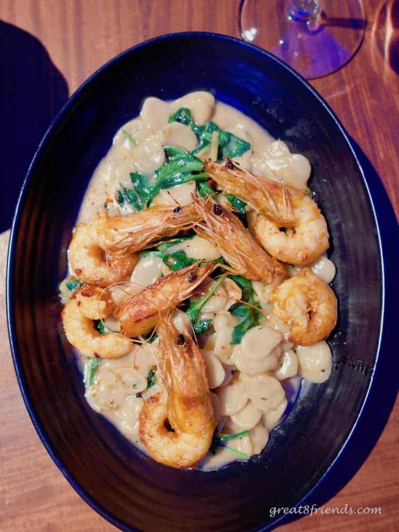 Water Grill Orecchiette with Shrimp