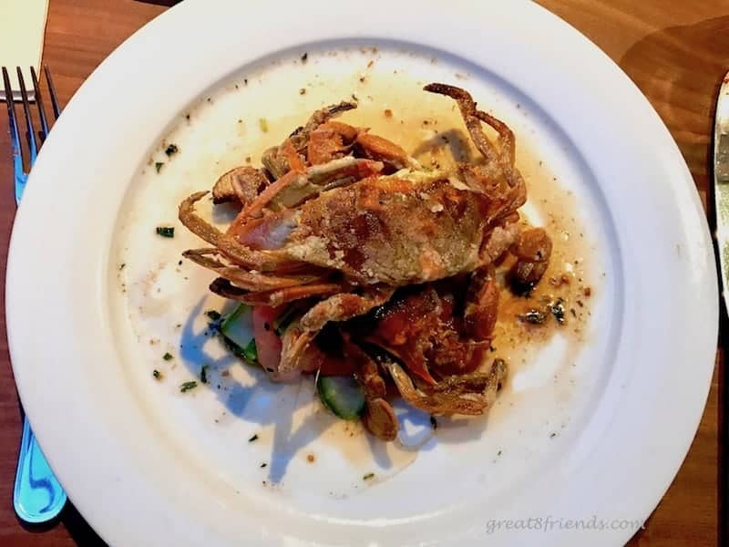 Water Grill Soft Shell Crab