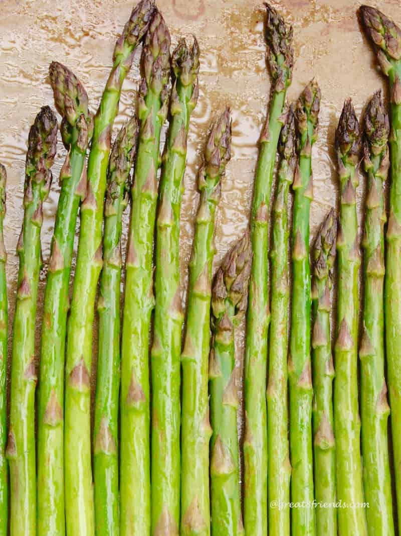 Roasted Asparagus cooked