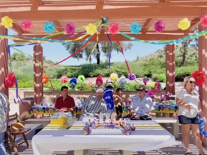 Trolls Birthday Party Gazebo