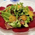 Roasted Baby Beet Salad with Candied Kumquats