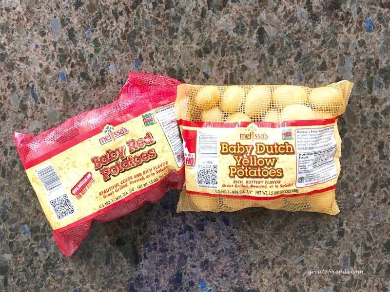 Melissa's Produce baby potatoes.