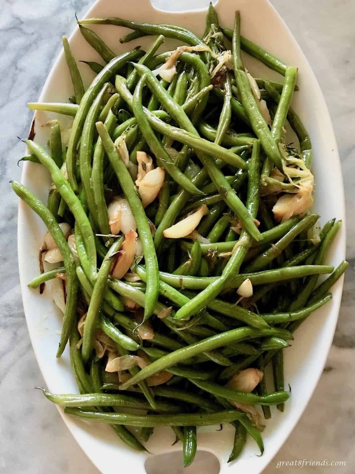 Here is a Great Green Bean and Onion dish that you can be sure to love more each time you make it! Perfect side dish for any meal!