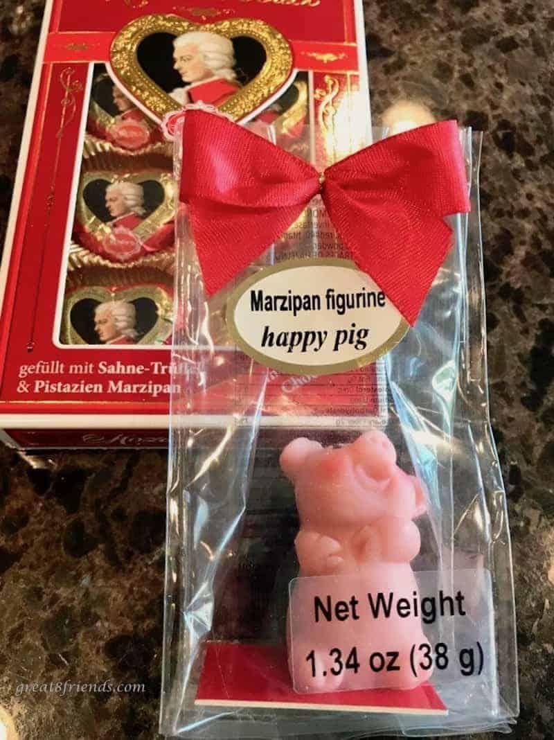 A Marzipan pig.