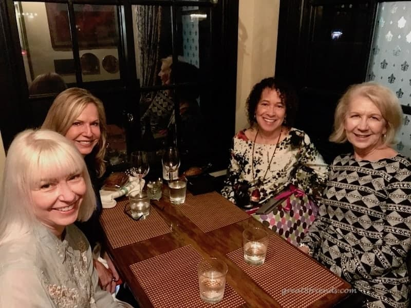 We celebrated Debbie's birthday at Roux Creole Restaurant in Laguna Beach. Eat great food and be transported to early 20th century New Orleans.