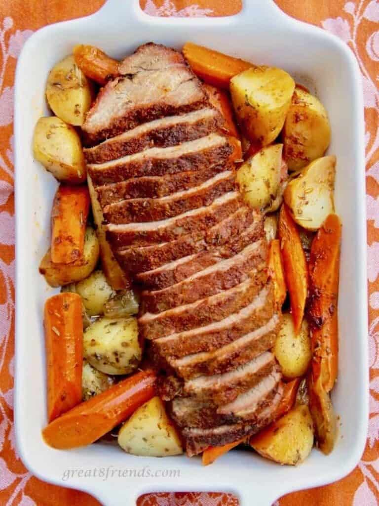 Slow Cooker Tri-Tip Roast and Veggies
