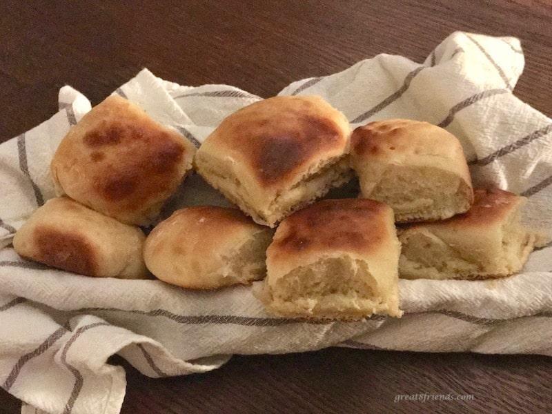 Homemade Hawaiian Bread Rolls.