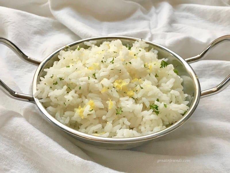 Zesty Lemon Rice