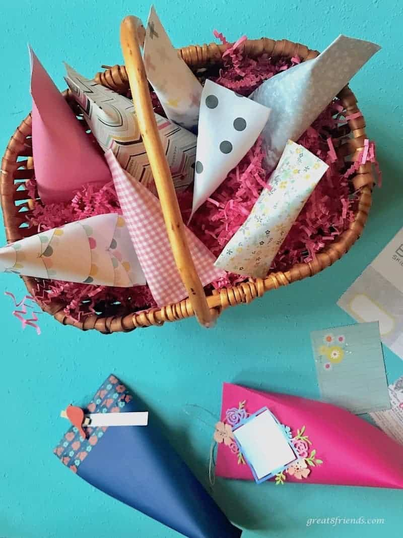 Impress many with only three craft supplies and create gift wrap for your holiday gifts or party favors for your next gathering.
